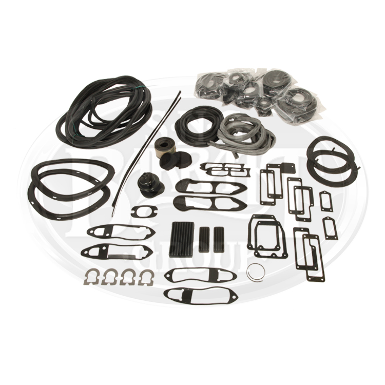 View RK1040 - XKE S1, 4.2 Body Rubber Kit